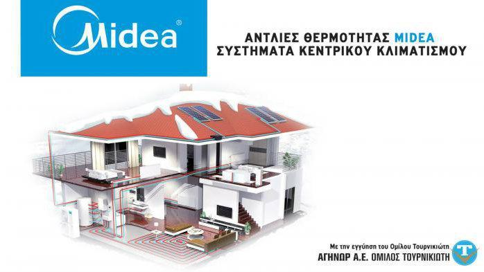 Αντλίες Θερμότητας Midea για συστήματα κεντρικού Κλιματισμού με την εγγύηση του Ομίλου Τουρνικιώτη