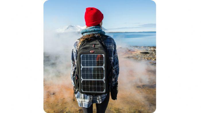 94b6c8470d Πλήρης αυτονομία και στην εξοχή με το ηλιακό backpack!